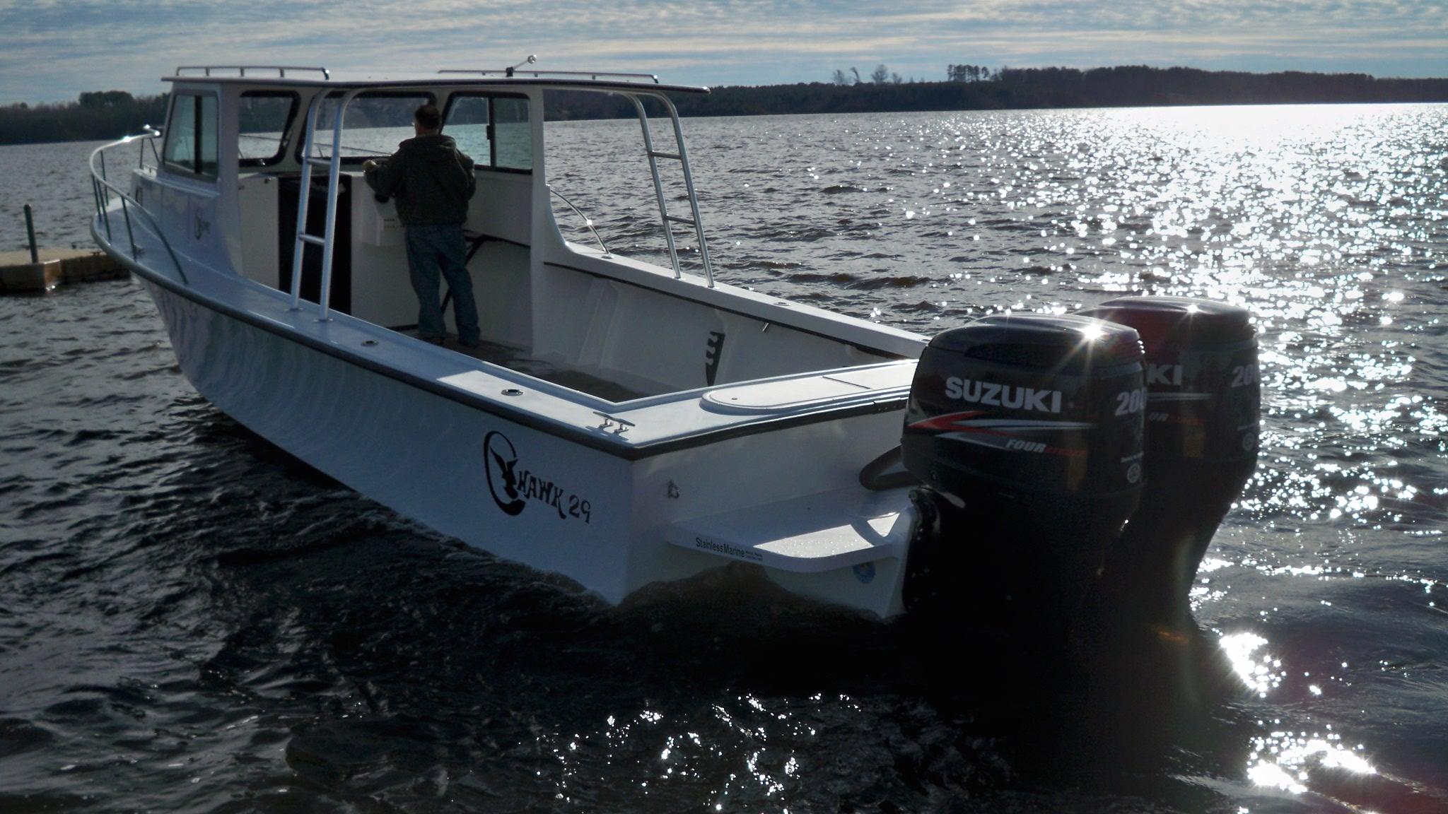 29 Sport Cabin Chawk Boats