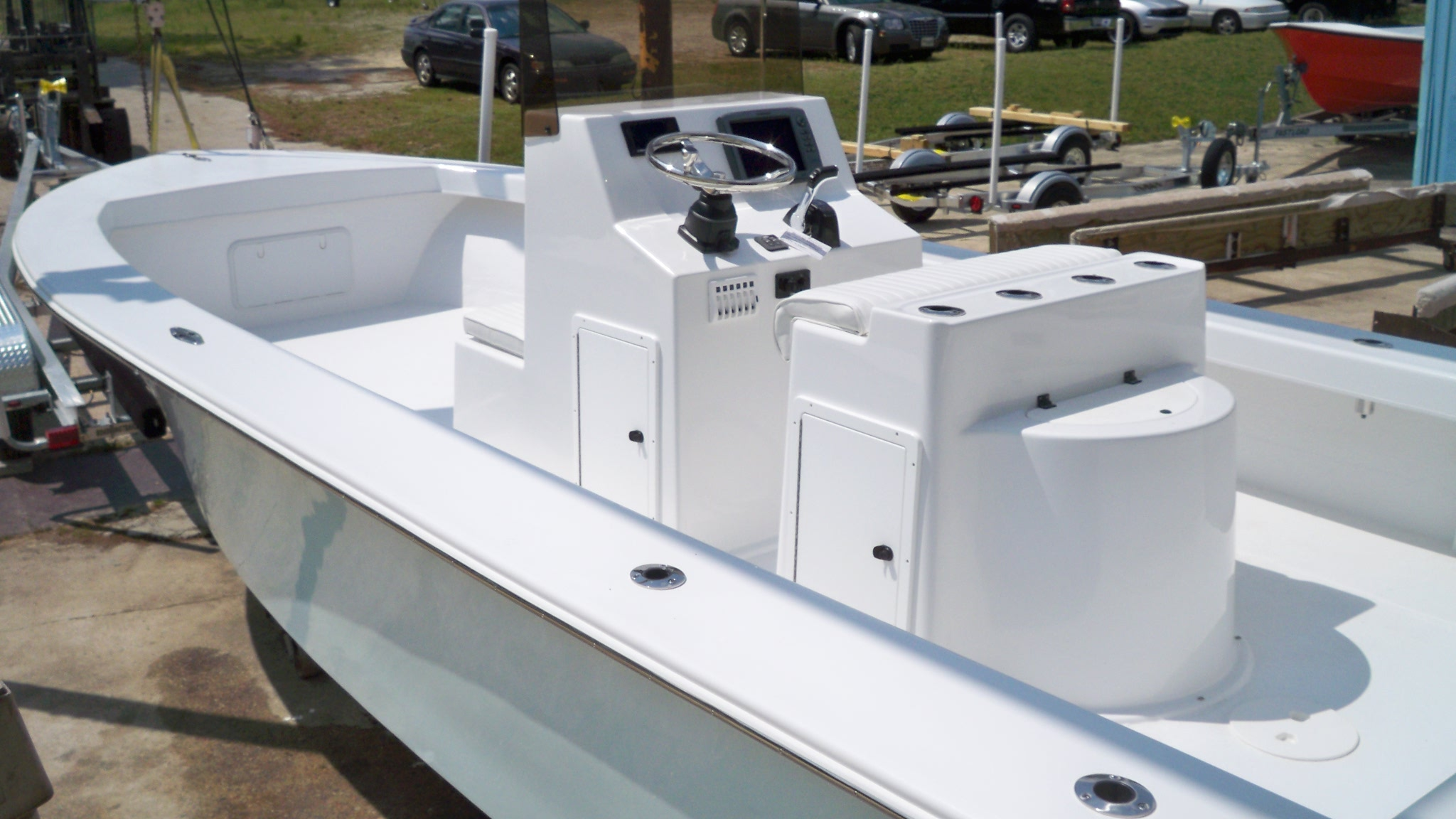 25 Center Console Chawk Boats