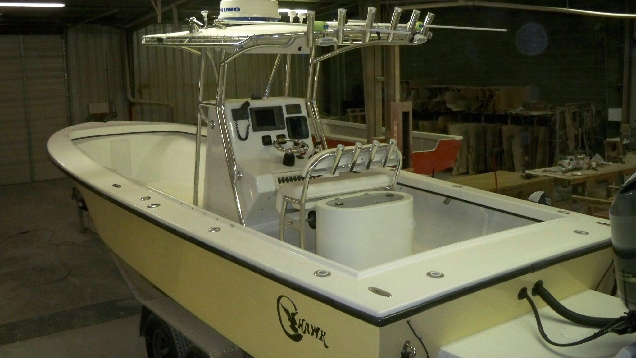 29 Center Console Chawk Boats
