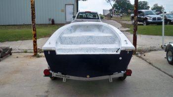 16′ Tiller – Chawk Boats Inc – Skiffs, Sport Cabins, Center