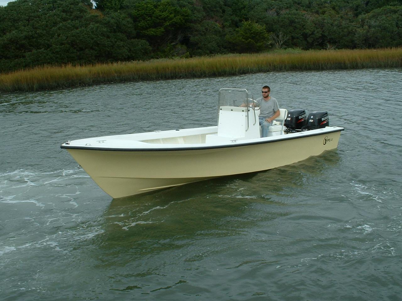 23′ Center Console – Chawk Boats Inc – Skiffs, Sport Cabins