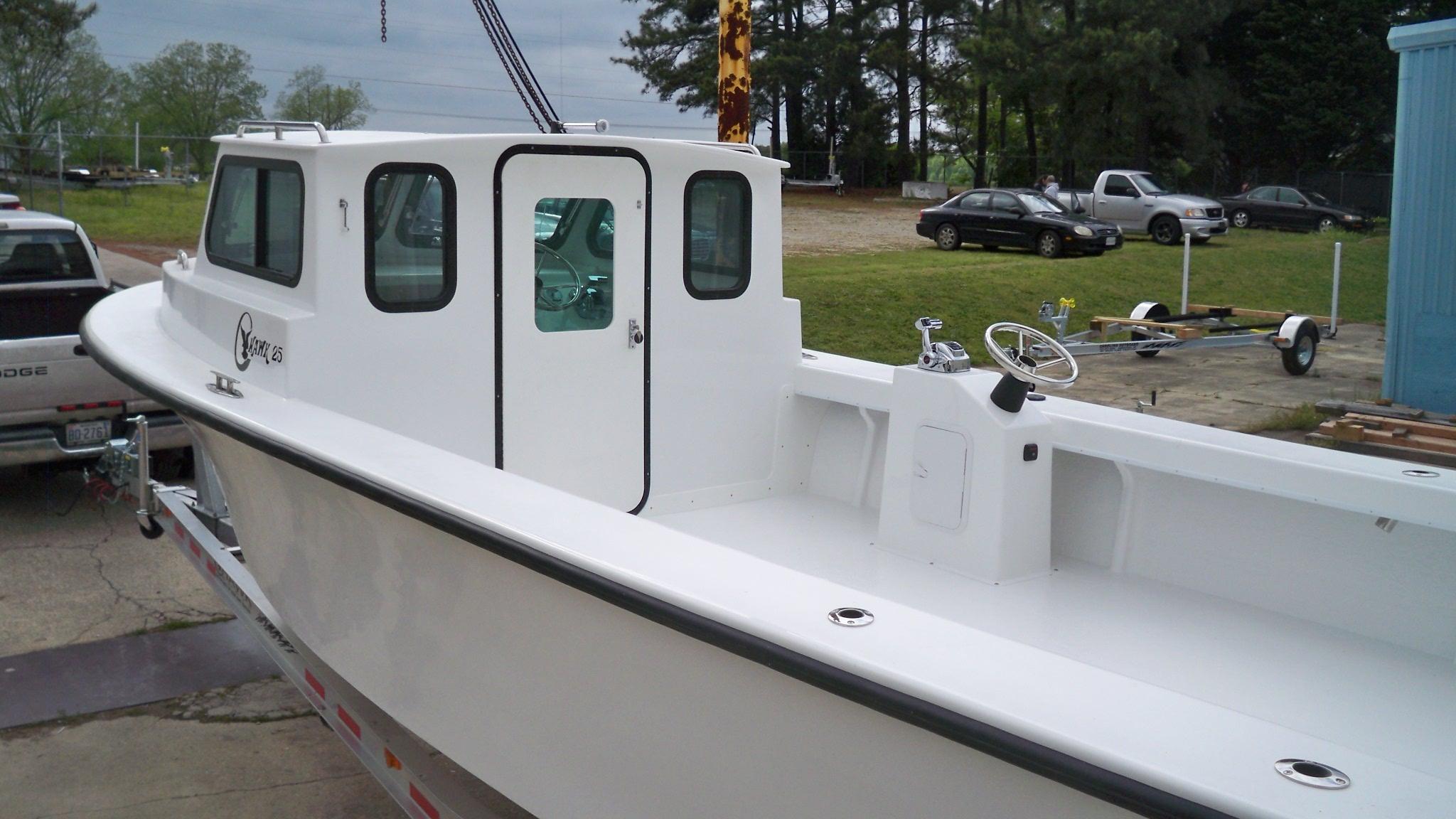 25 Std Cabin C-Hawk 004 – Chawk Boats Inc – Skiffs, Sport